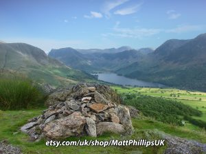 Buttermere from Rannerdale