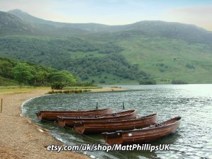 Row Boats by Crummock Water