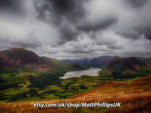 HDR Towards Crummock Water