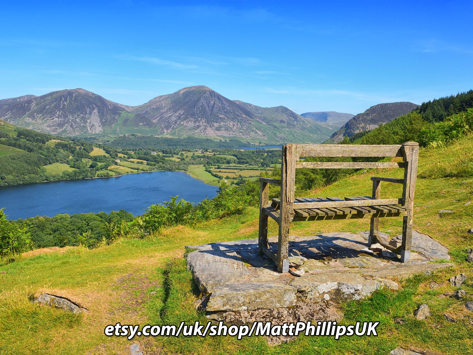 Overlooking Loweswater