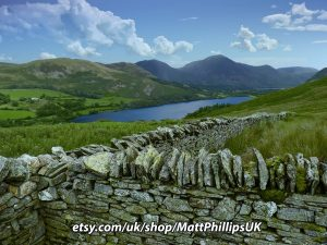 Stone Walls at Loweswater